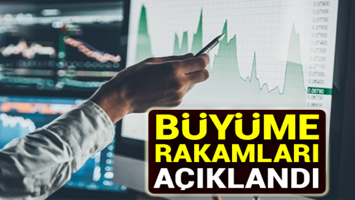 Büyüme rakamları açıklandı!